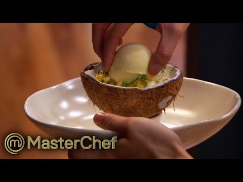 Reynold and Jessie vs. 2 Professional Chefs! | MasterChef Australia