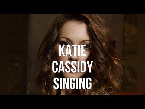Katie Cassidy Singing