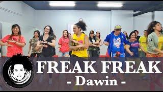 Freak Freak | Dawin | Zumba® Fitness | Dance Fitness | POP | Choreography | Alfredo Jay