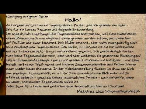 Ankündigung in eigener Sache und Tagesausblick-Themen vom 19.10.12 (Dirk Müller) [+Verlinkung]