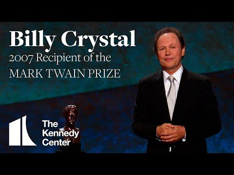 Billy Crystal Acceptance Speech | 2007 Mark Twain Prize