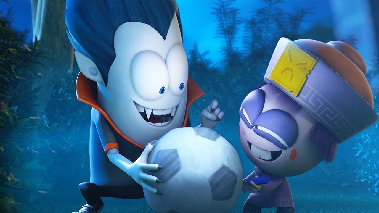 Spookiz | The Soccer Ball Prank | Funny Cartoons For Kids | WildBrain Cartoons