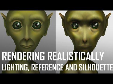 Critique Hour! New Portrait Studio Demo + Rendering Realistically!