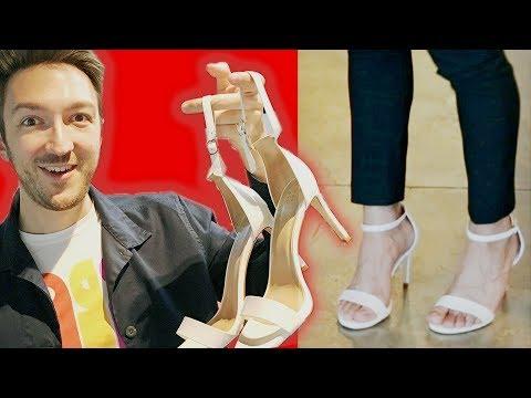 Why Don't Men Wear High Heels?