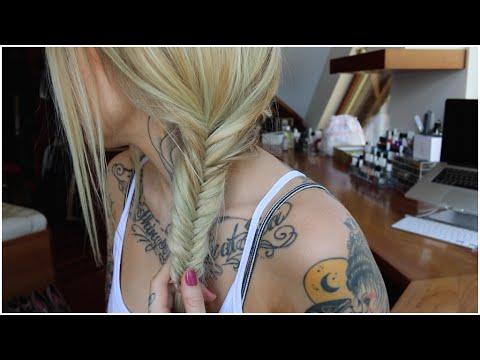 Fishtail Braid Feat. AB Hair- Rhian HY/ WIFELIFE
