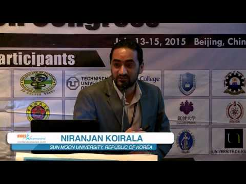Niranjan Koirala  |  Republic of Korea  |  Asia-Pacific Biotech 2015 | Conferenceseries LLC