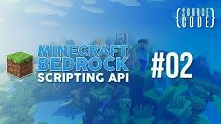 Minecraft Bedrock Scripting API Tutorial - Spawn Particles - #02
