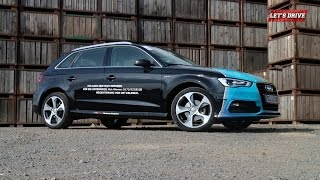 Audi A3 g-tron 1.4 TFSI [2014] im Test | Fahrbericht | On the Road   // Let