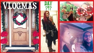 Decorating My Porch, Shopping in Slippers, Car Getting Run Into & A Trip - VLOGMAS Day 10-22