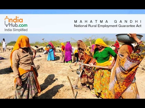 MNREGA- Mahatma Gandhi National Rural Employment Gurantee Act