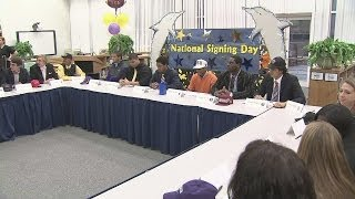 Special Signing Day Edition of the Sportswrap