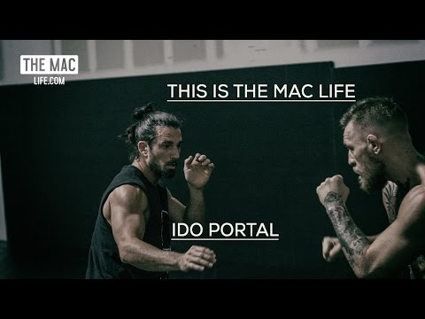Conor McGregor and Ido Portal working on balance and footwork before UFC 202 #TheMacLife