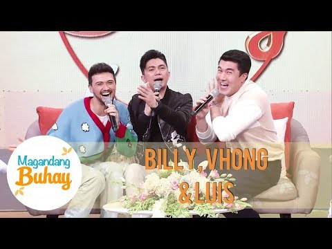 Billy, Vhong and Luis joke about replacing the Momshies in Magandang Buhay | Magandang Buhay