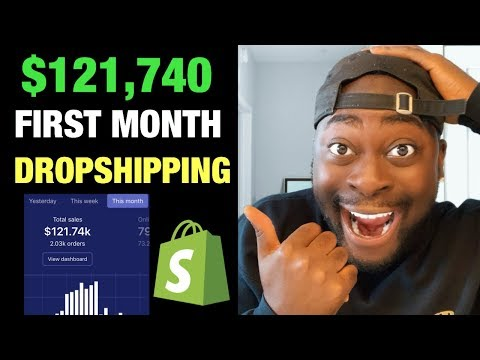 $100,000+ First Month Dropshipping on Shopify (FULL STRATEGY) 2019 How To Tutorial thumbnail