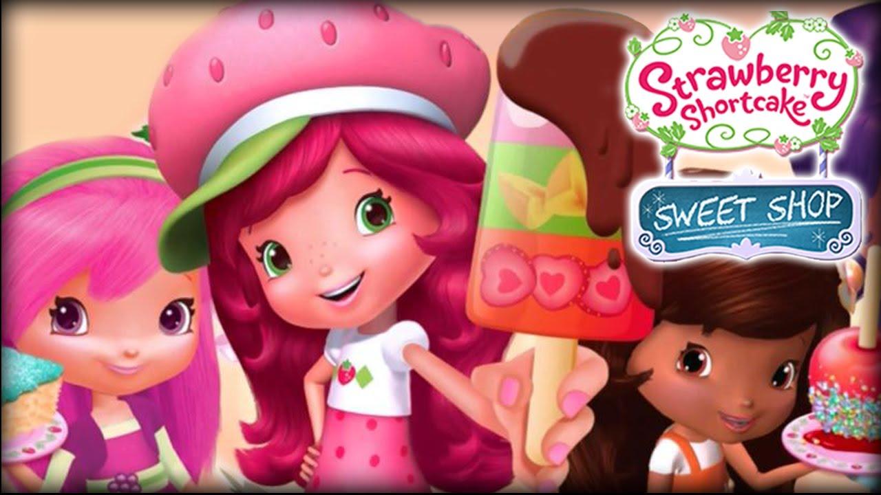 Strawberry Shortcake Sweet Shop Ipad App Demo For Kids Ellie Funnycat Tv