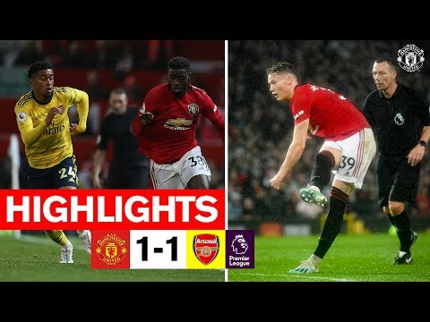 Highlights | Manchester United 1-1 Arsenal | Premier League