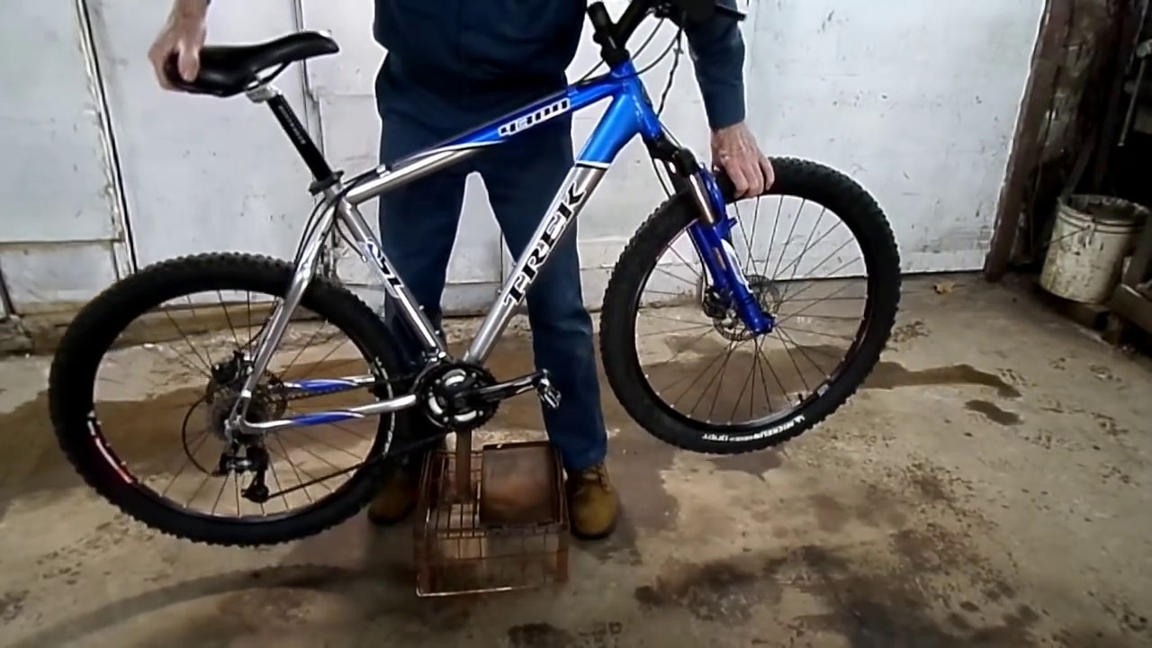 Homemade Bicycle Stand Youtube