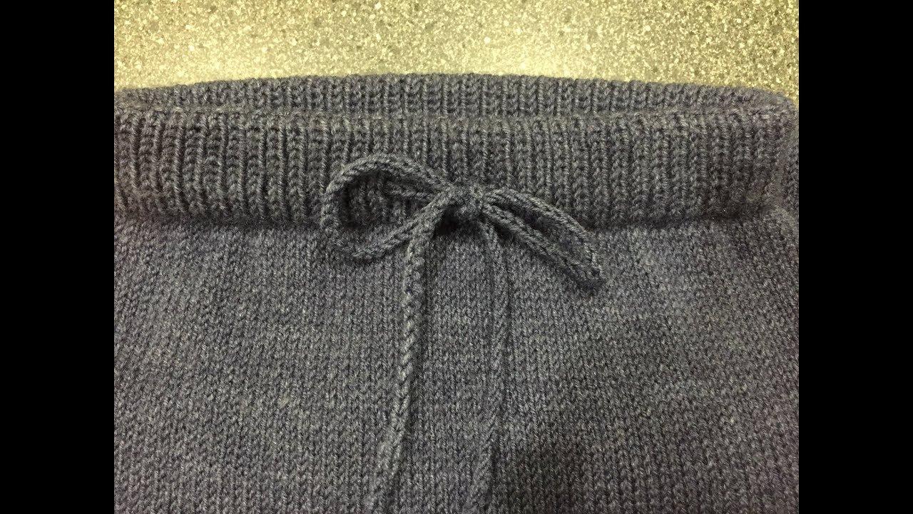 вяжем детские штанишки спицами вязание постила