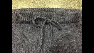 Вяжем детские штанишки спицами
