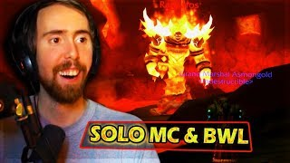 Asmongold SOLO ONE SHΟTS Every Boss in MC & BWL (By Going Back To Retail)