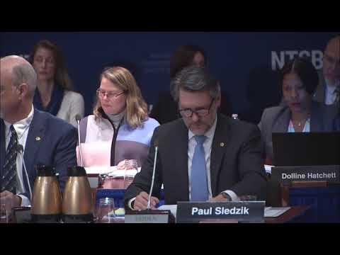 NTSB Board Meeting: