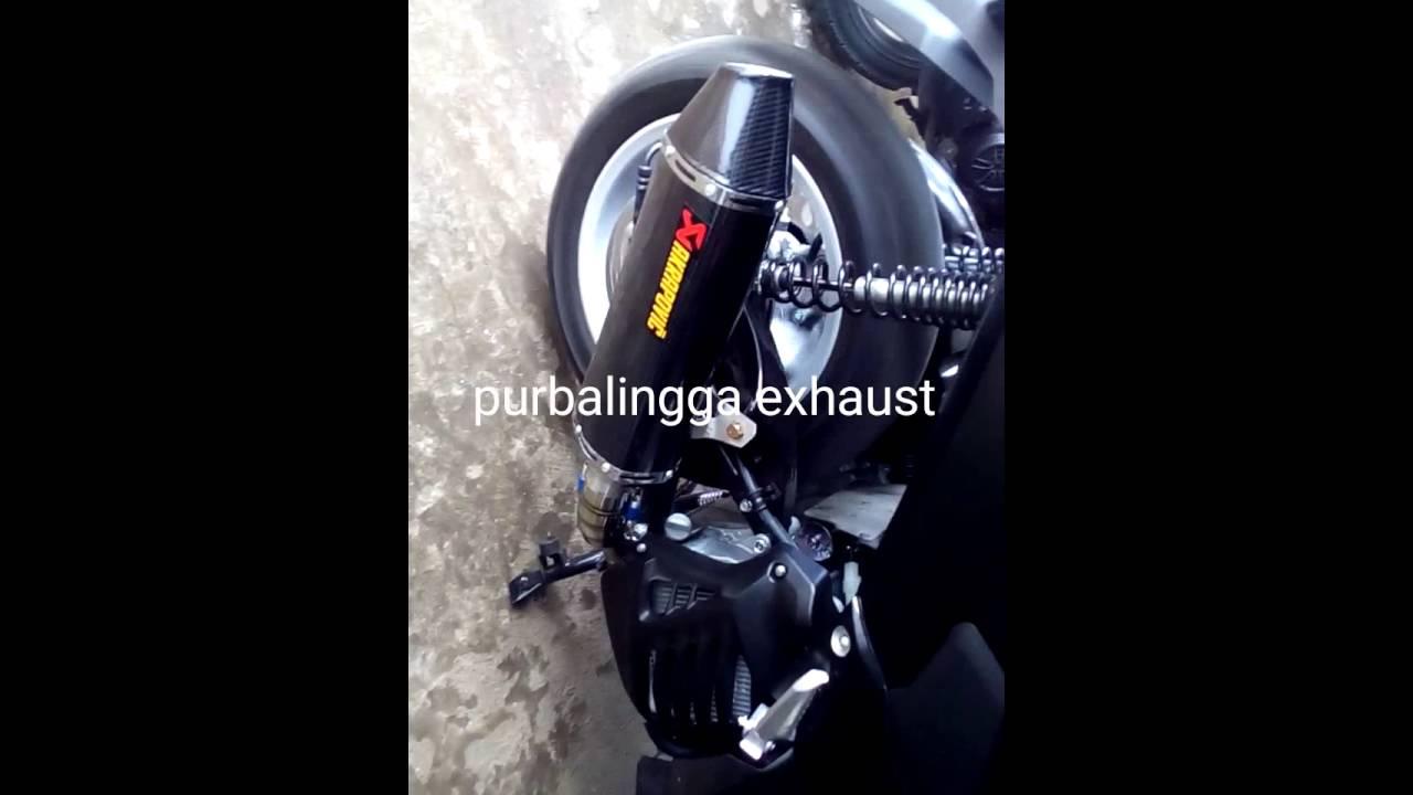 Knalpot Akrapovic Yamaha N Max Custem Purbalingga Youtube R9 Assen Honda All New Cbr 250 Full System