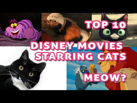 Top 10 Disney Movies Starring Cats - Meow!