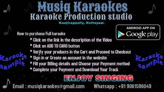 Azhagooril Poothavale Karaoke Demo