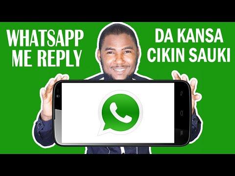 Whatsapp:/ Whatsapp Me magana da kansa