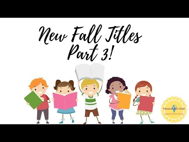 EVEN MORE New Fall Titles!