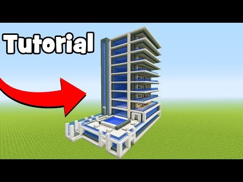 Minecraft Tutorial: How To Make A Hotel