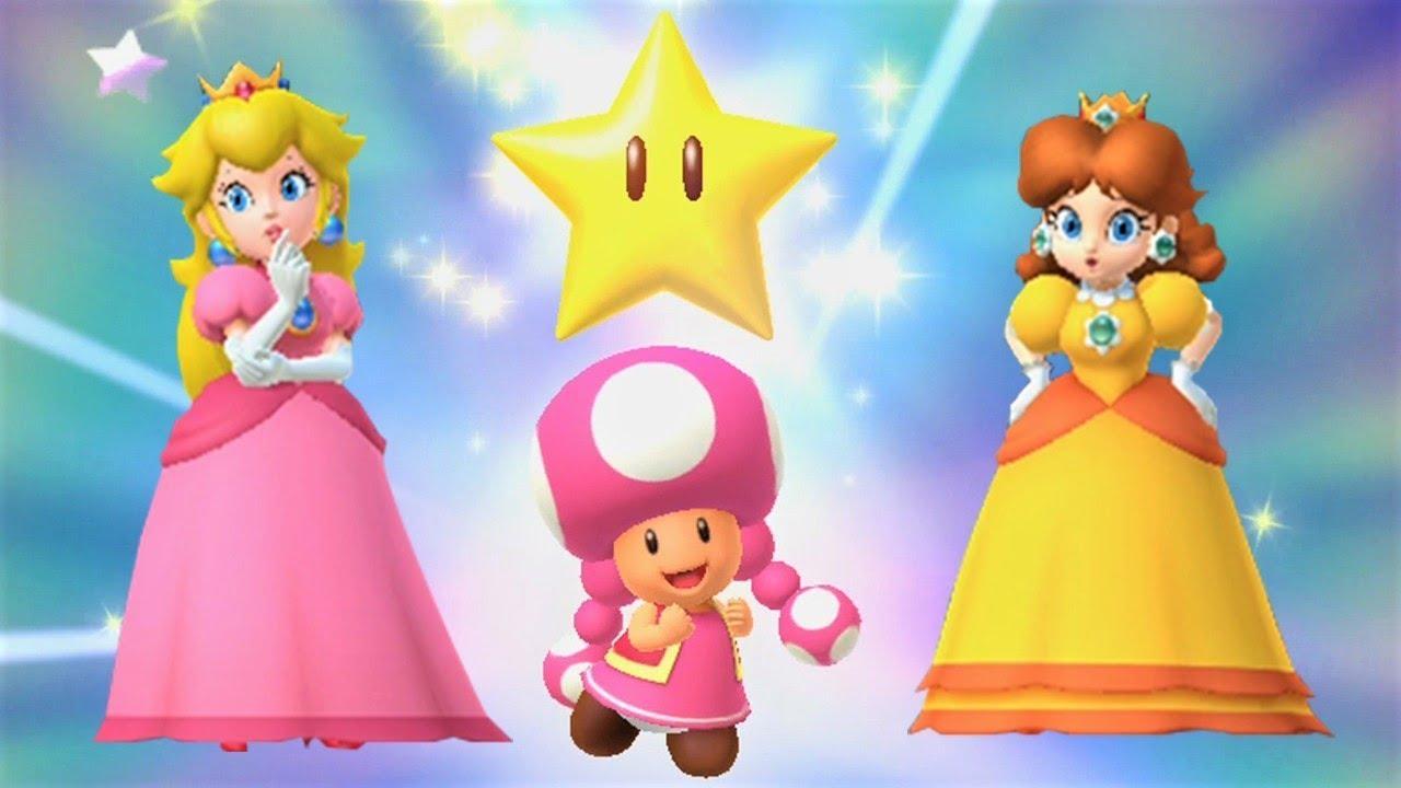 Mario Party 10 - Peach vs Daisy vs Toadette - Chaos Castle ...