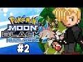 Pokemon Moon Black 2 Nuzlocke Part 2 SAVE THE LYCANROC! Pokemon NDS Rom Hack