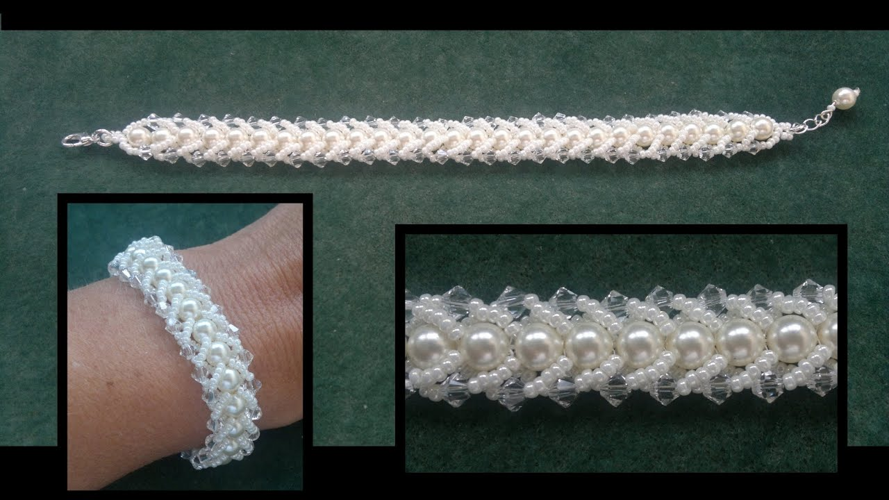 Beading4perfectionists Flat Spiral Beading Tutorial For