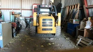 john deere 260 skid steer alternator wiring diagram 3 way dimmer switch uk 240 3cly diesel bad starter video thumbnail