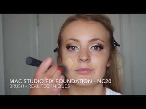 Makeup lesson - My go to makeup look for clients / ABH modern Renaissance palette