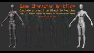 Game Character Workflow Part 1