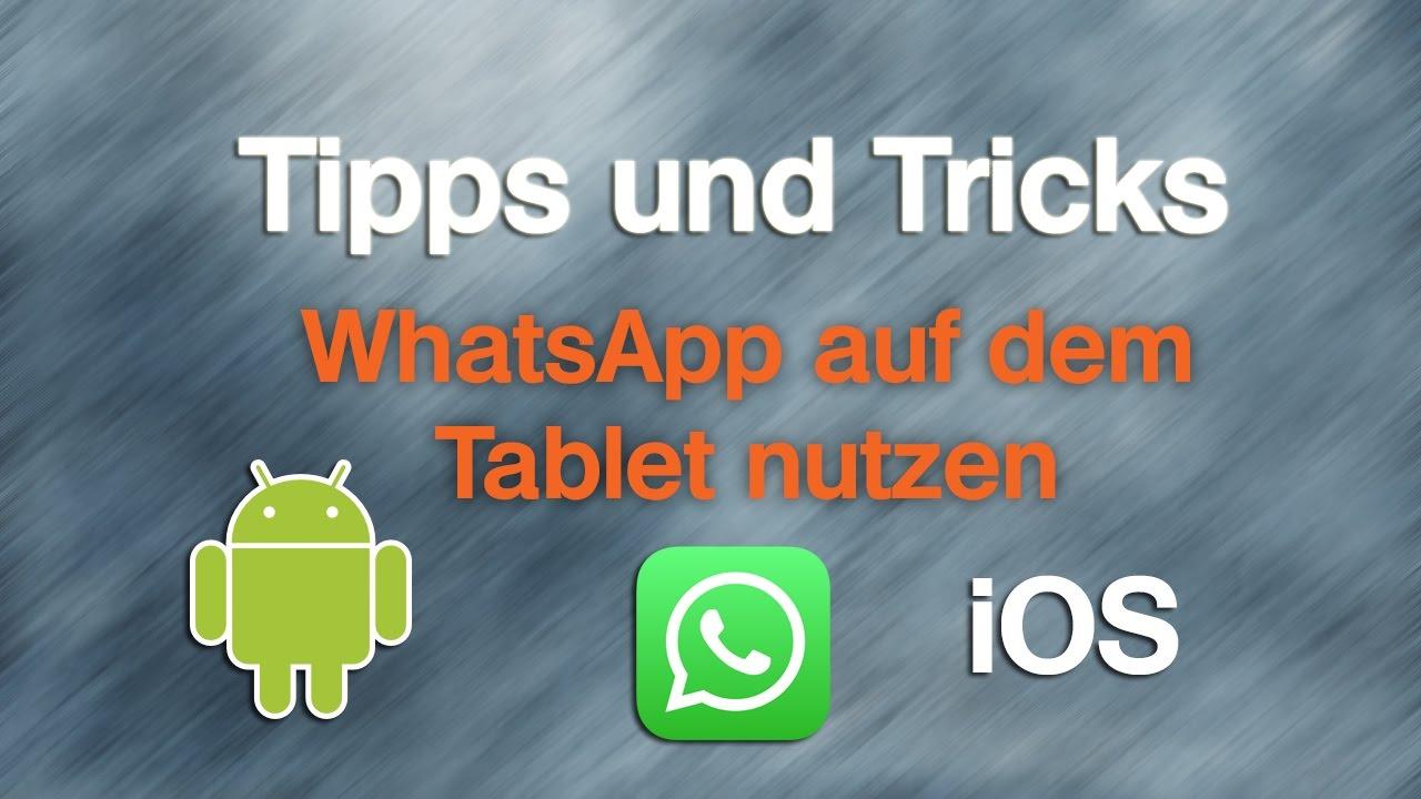 Whatsapp Ohne Sim Karte Nutzen.Whatsapp Auf Ipad Android Tablet Ohne Sim Nutzen