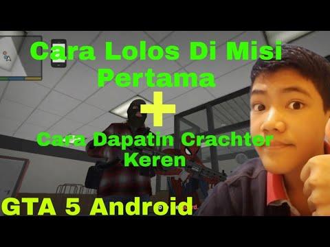 Tutorial Cara Main GTA 5 di Android - First Mission Gameplay!.
