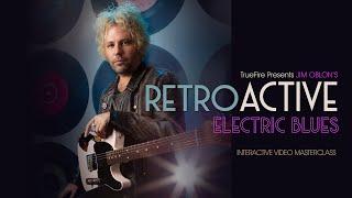 RetroACTIVE Electric Blues - Intro - Jim Oblon Guitar Lessons