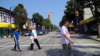 Driving in Vancouver BC Canada - Fraser Street - City Tour