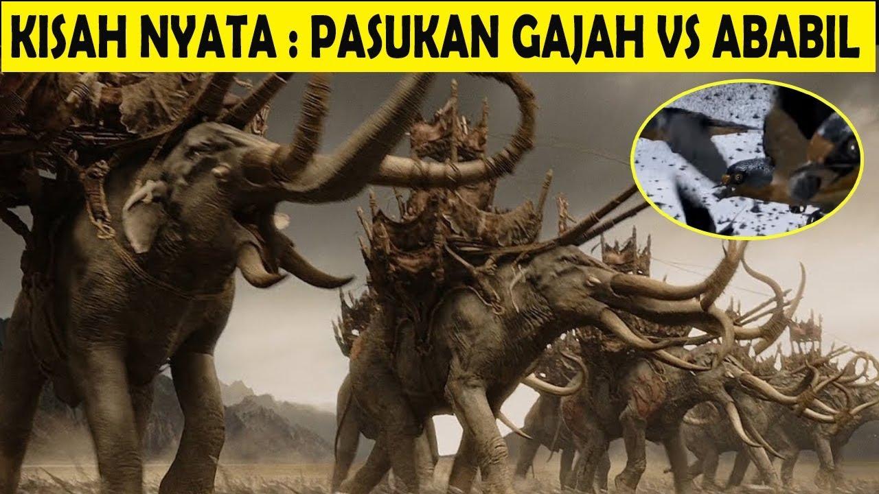 Kontemplasi Pasukan Burung Ababil Melawan Pasukan Gajah Mempertahankan Kabah By Dally M Subagijo