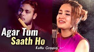 Agar Tum Saath Ho | KuHu Gracia | Flute Cover | AR Rahman | Alka Yagnik | Arijit Singh | Cover