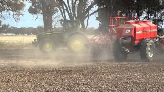 Seeding with Knuckey Press Wheel Systems on Horwood Bagshaw PSS, Australia