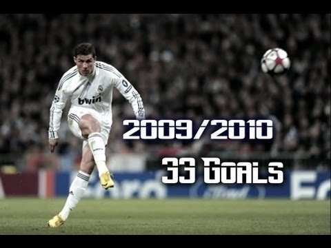 La Liga BBVA : Cristiano Ronaldo All Goals - HD - 2009/2010