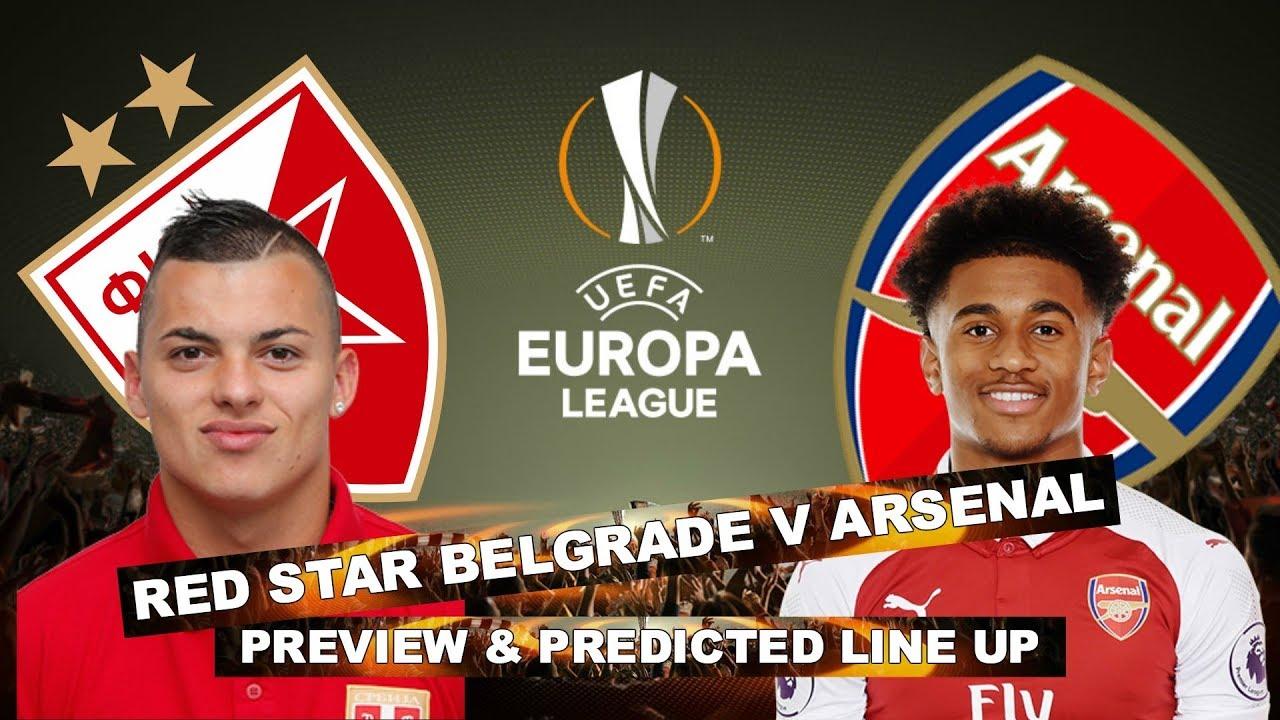 Image result for Red Star Belgrade vs Arsenal pic