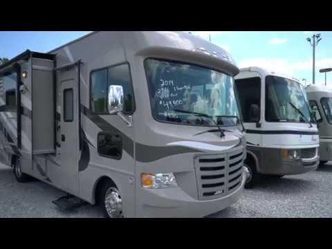SOLD! 2014 Thor A.C.E. 27.1 Mini Class A, Slide Out, 22K Miles, King Bed, Loaded $49,900