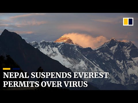 Nepal suspends Everest permits over coronavirus