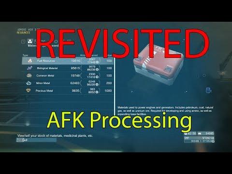 MGSV- REVISITED AFK Processing