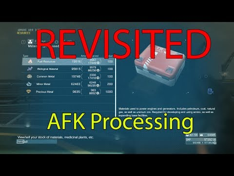 MGSV- REVISITED AFK Processing